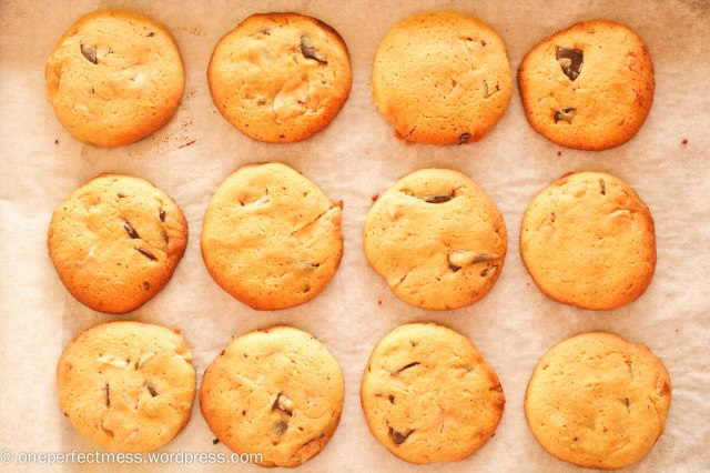 Chunky Chocolate Chip Cookies Recipe One Perfect Mess 2