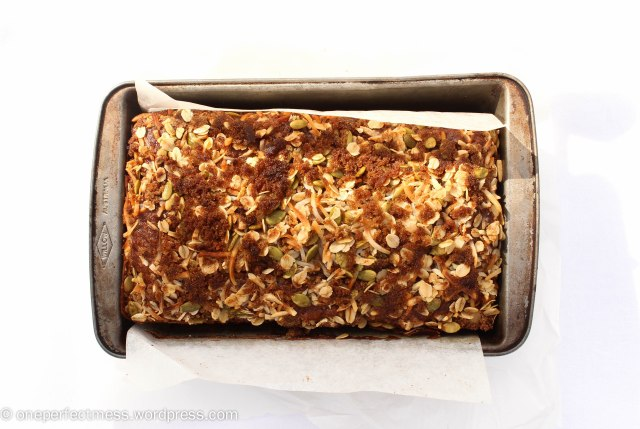 Coconut and Banana Bread Recipe One Perfect Mess 1
