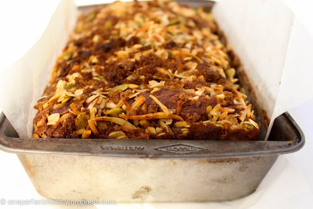 Coconut and Banana Bread