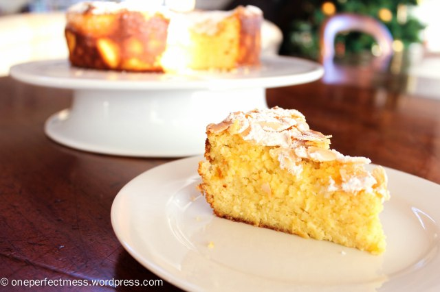 Lemon, Ricotta and Almond Flourless Cake recipe One Perfect Mess 5