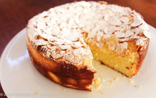 Lemon, Ricotta and Almond Flourless Cake recipe One Perfect Mess 6