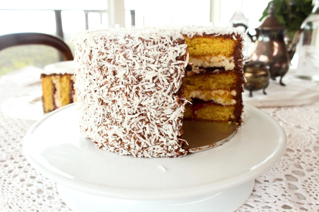 Lamington Layer Cake Recipe One Perfect Mess 3