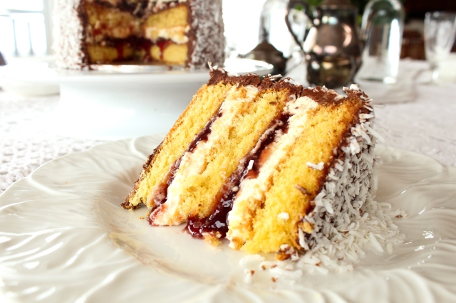 Lamington Layer Cake Recipe One Perfect Mess 4