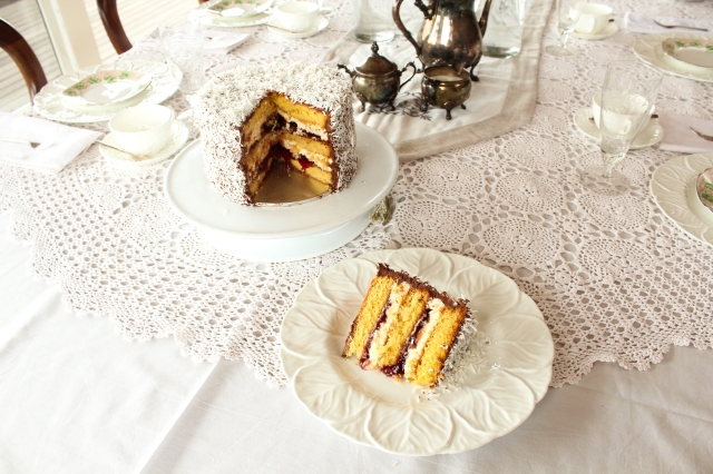 Lamington Layer Cake Recipe One Perfect Mess 5