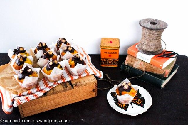 Apricot and Dark Chocolate Fruchoc Muffins recipe One Perfect Mess 1