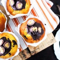 Apricot and Dark Chocolate FruChoc Muffins