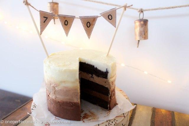 Mini Triple Chocolate Ombre Layer Cake One Perfect Mess recipe 8
