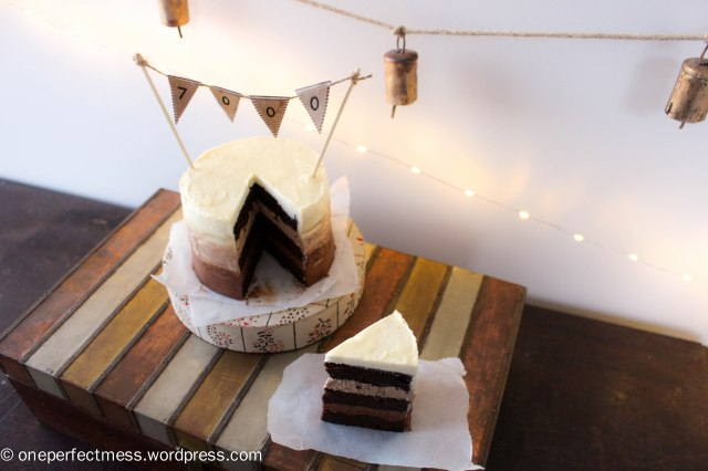 Mini Triple Chocolate Ombre Layer Cake One Perfect Mess recipe 9