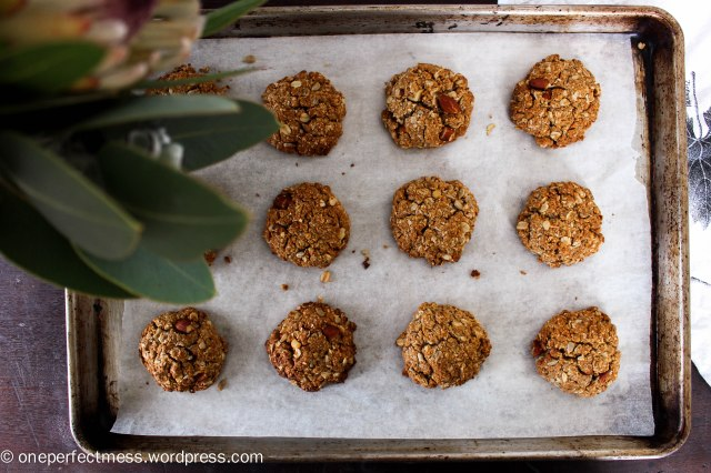 Sugar Free Healthy Muesli Anzac Cookies recipe One Perfect Mess 6