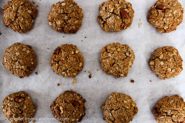 Sugar Free Healthy Muesli Anzac Cookies recipe One Perfect Mess 7