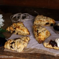Date and Walnut Buttermilk Scones