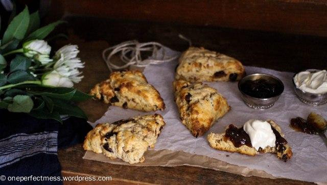 Date and Walnut Buttermilk Scones One Perfect Mess recipe wholemeal wholewheat easy baking dates walnuts 4