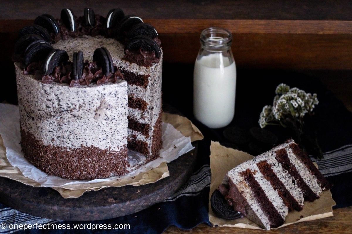 Crazy Cookies and Cream Cake