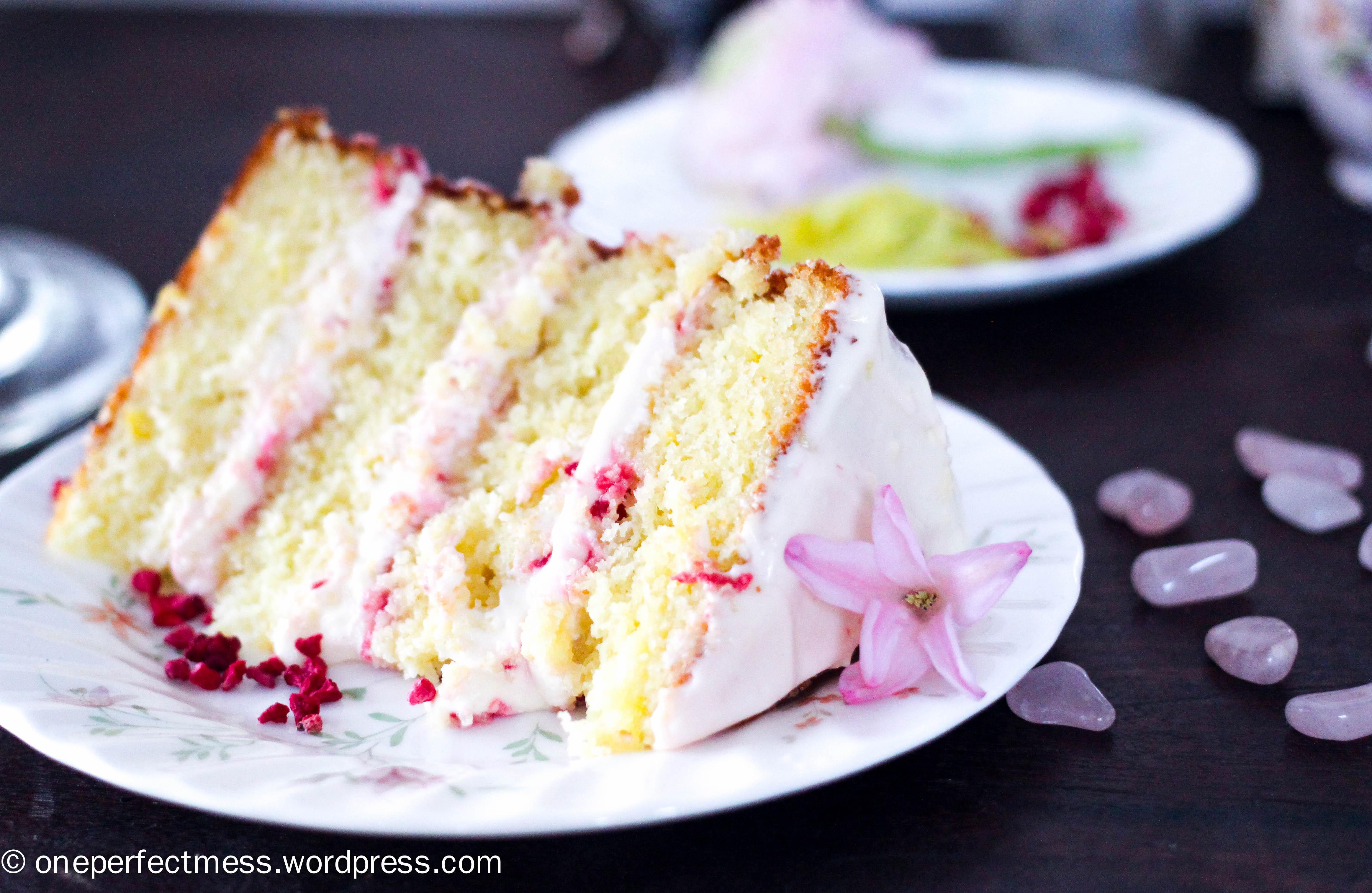 Lemon raspberry cake recipe from scratch