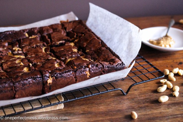 crunchy-peanut-butter-brownies-one-perfect-mess-recipe-easy-baking-dark-chocolate-soft-moist-rich-fudge-fudge-1